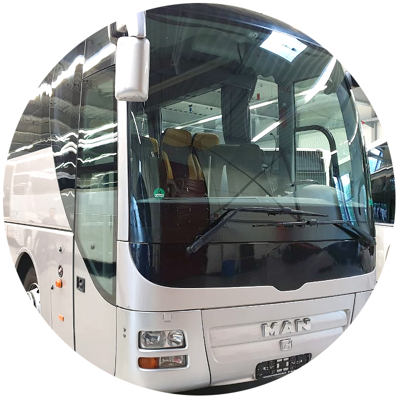 Χετζάκης Μανόλης, Μεταφορές με λεωφορείο πούλμαν, Τουριστικά λεωφορεία, Ηράκλειο